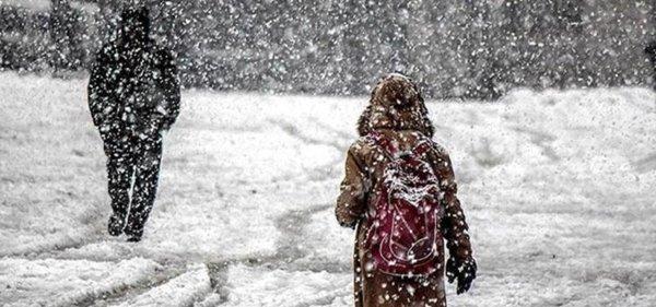 Eğitime kar engeli. Bu illerde okullar tatil
