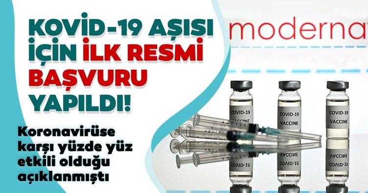 Son Dakika Haberleri   Koronavirüs aşısı için şirket resmi başvuruyu yaptı! KOVİD-19 aşısının yüzde yüz etkili olduğu açıklanmıştı