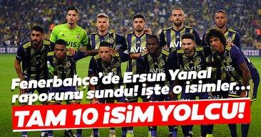 Fenerbahçe için flaş iddia! Devre arası ve sezon sonunda 10 yolcu...