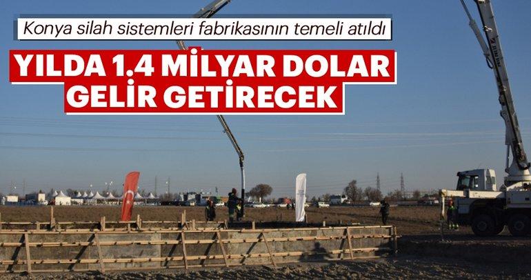 Aselsan'ın 65 milyon dolarlık Konya silah sistemleri fabrikasının temeli atıldı