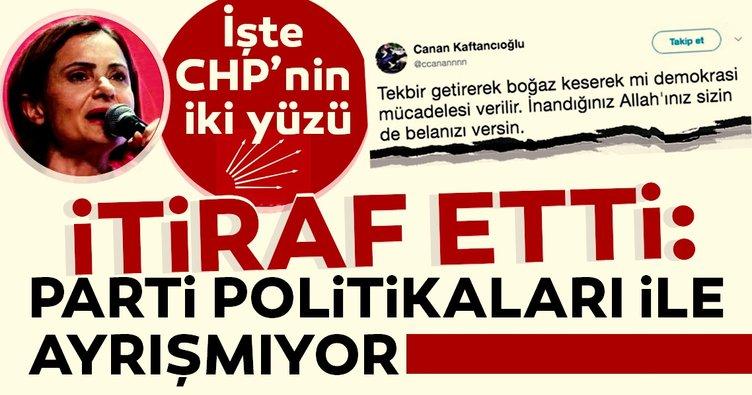 Canan Kaftancıoğlu itiraf etti: Parti politikaları ile ayrışmıyor!