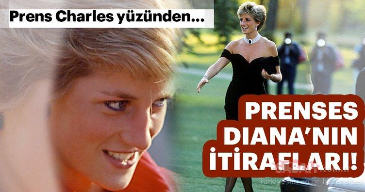 Prenses Diana'nın itirafları