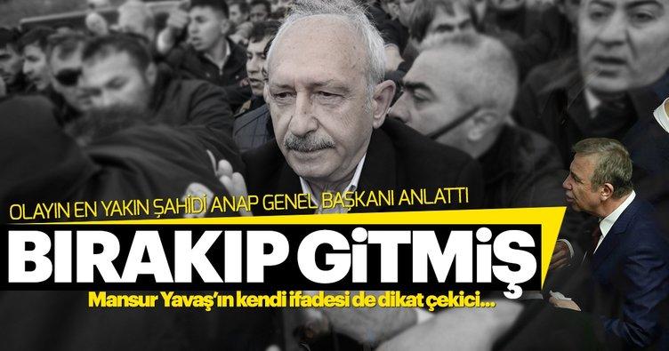 Mansur Yavaş'ın Kılıçdaroğlu'nu bırakıp gitmesi iddiasında yeni gelişme: Sıvışıp gitti!