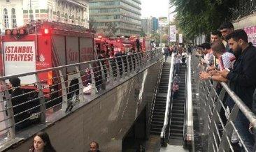 Metroda intihar! Olay nedeniyle metro seferleri durduruldu