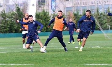 Başakşehir'de Roma maçı hazırlıkları başladı