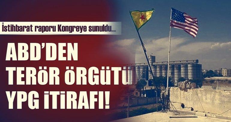 Son Dakika Haberi: ABD'den YPG itirafı!