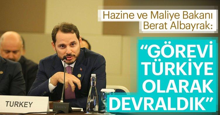 Bakan Berat Albayrak: Görevi Türkiye olarak devraldık