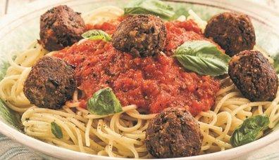 Vegan Köfteli Spagetti