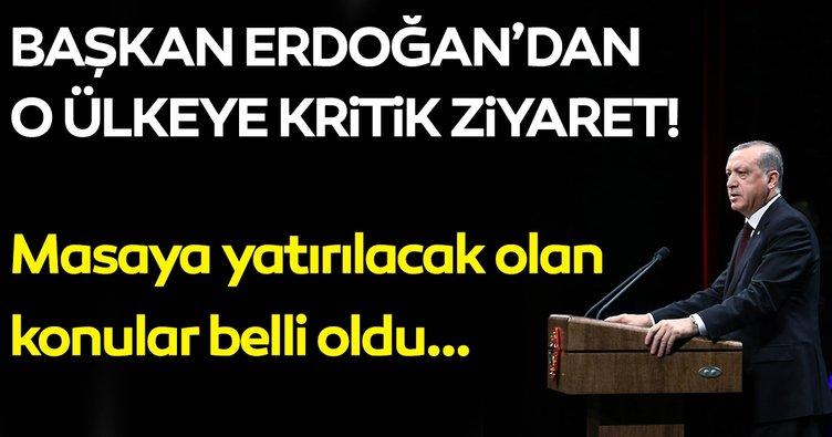 Başkan Erdoğan Tacikistan'a gidecek