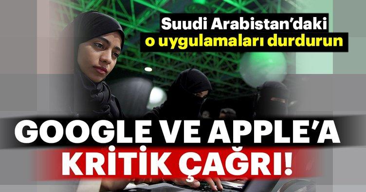 ABD'li senatörden Google ve Apple'a 'Suudi Arabistan' çağrısı
