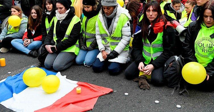 Fransa hükümeti protestocuları cezalandıracak yasal düzenleme yapmaya hazırlanıyor