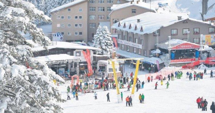4 milyon vatandaş kayakla tanışacak
