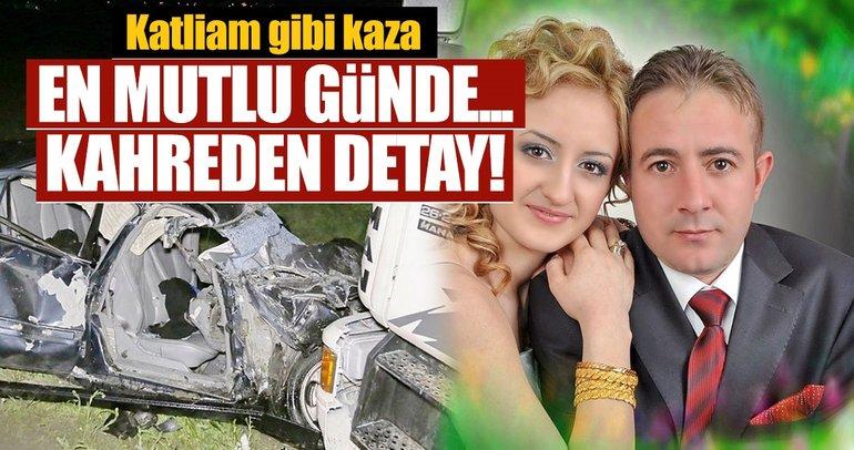 Son dakika: Ankarada doğum günü kutlamasından dönen çift trafik kazasında hayatlarını kaybetti
