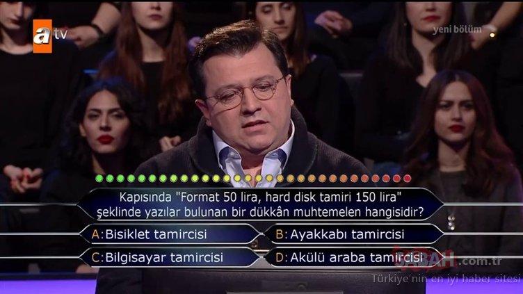 Kim Milyoner Olmak İster 812. son bölüm soru ve cevapları! Cevabı kimse tahmin edemedi...