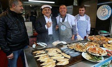 Başkan Büyükkılıç balıkçı esnafını ziyaret etti
