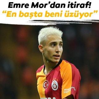 Galatasaray'dan ayrılan Emre Mor'dan veda mesajı