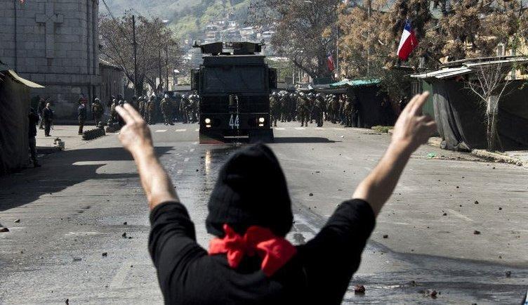 Darbe protestosu olaylı geçti