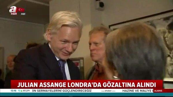 İngiltere'de Ekvador Büyükelçiliği'nde bulunan Wikileaks'ın kurucusu Julian Assange gözaltına alındı!