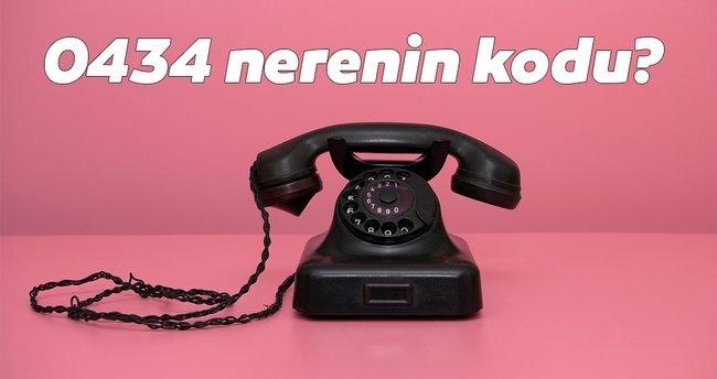 434 Nerenin Kodu? - 0434 Telefon Numarası Kodu Neresi Hangi Şehir?