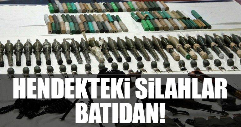 Hendekteki silahlar Batı'dan!