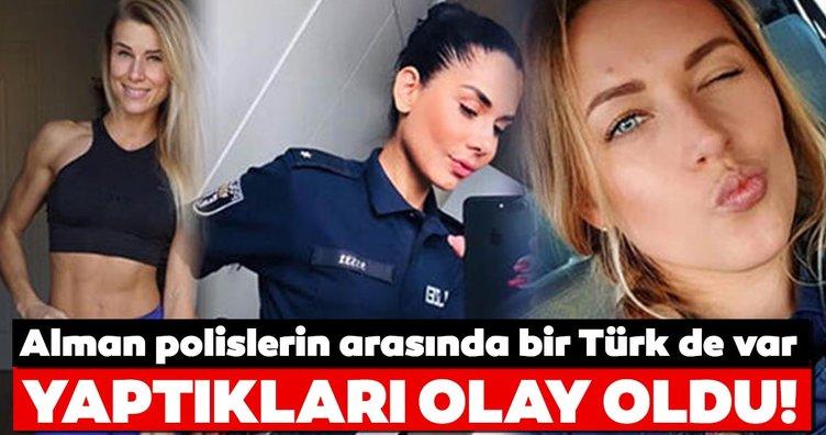 Kadın polisler Alman emniyetini harekete geçirdi