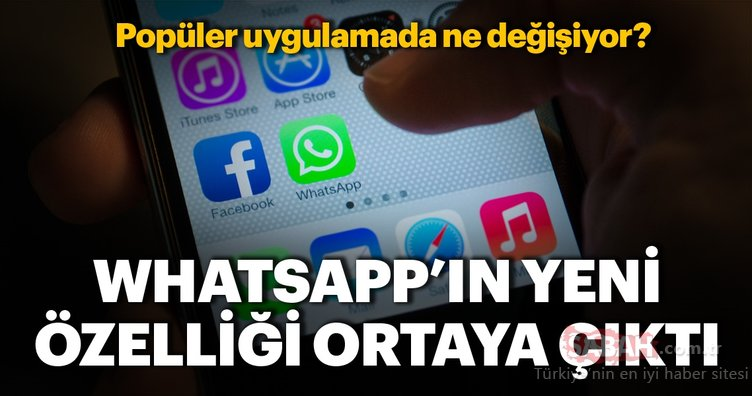 WhatsApp'ın yeni özelliği ortaya çıktı! WhatsApp'ta arşivlenmiş olan sohbetler...