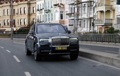 Sürüş izlenimi · Rolls-Royce Cullinan