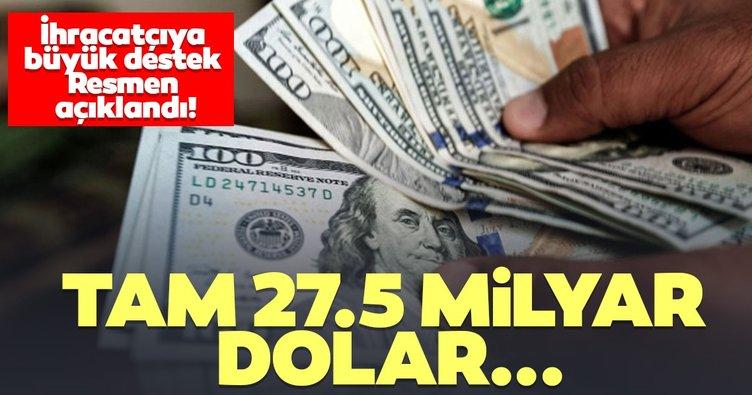 Türk Eximbank'tan ihracatçıya büyük destek! 27,5 milyar dolara ulaştı