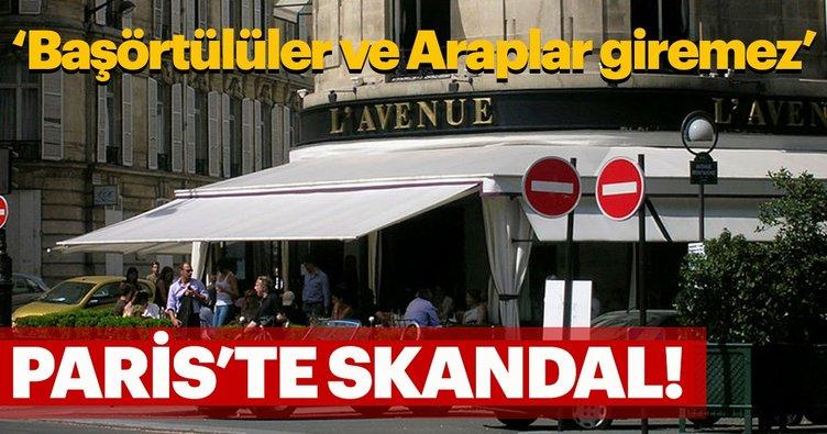 Fransız restorandan ırkçı rezervasyon uygulaması!