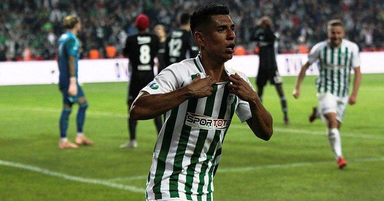 Atiker Konyaspor'da Hurtado, 7 hafta yok!