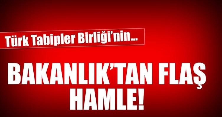 İçişleri Bakanlığı'ndan flaş hamle! Türk Tabipler Birliği'nin...