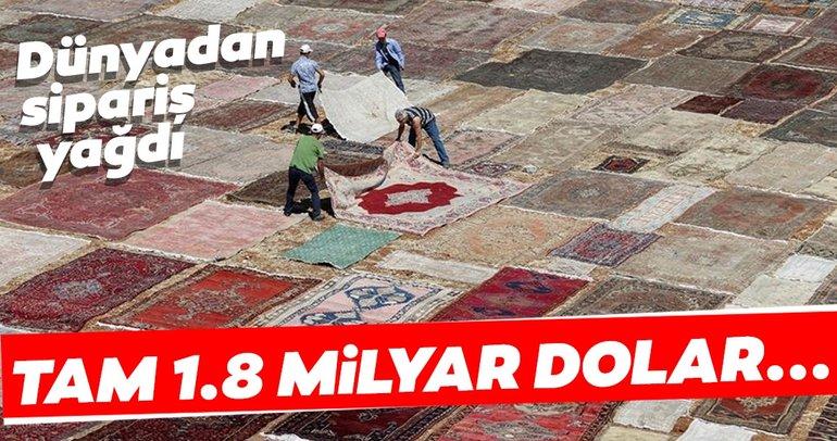 Dünyadan sipariş yağdı! Türk halıları dünya evlerini süsledi