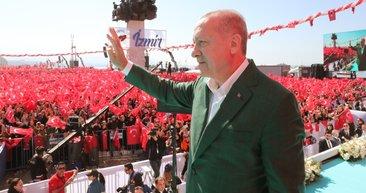 AK Parti ve MHP'nin İzmir mitinginde coşku tavan yaptı! İşte Gündoğdu meydanı ve Cumhur ittifakı