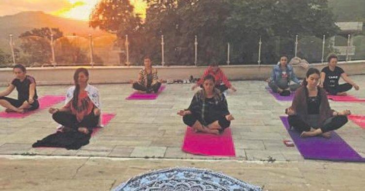 Yoga Mandala Grubu yaz kampı düzenledi