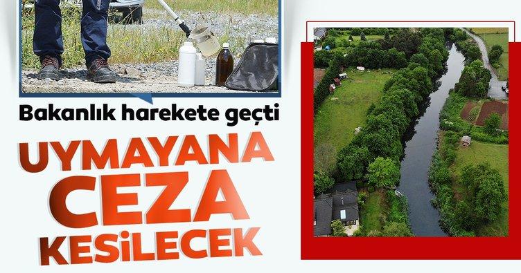 İstanbul Çevre ve Şehircilik İl Müdürlüğü ekipleri, Riva Deresi'nde inceleme yaptı