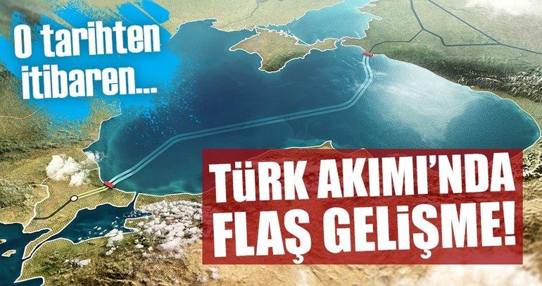 Türk Akımı, mayısta Türk kıyılarına ulaşacak