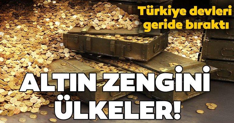 En fazla altın rezervine sahip ülkeler! Türkiye'nin altını ne kadar?