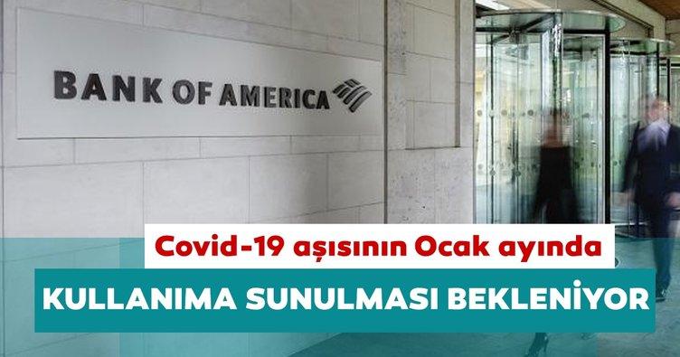 BofA: Yatırımcılar Covid-19 aşısının Ocak ayında kullanıma sunulmasını bekliyor