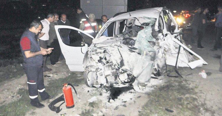 Maç dönüşü kaza: 5 ölü, 6 yaralı