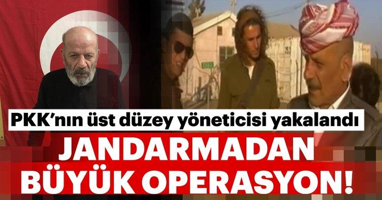PKK'nın üst düzey yöneticisi yakalandı!