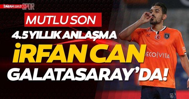 Son dakika: Milli yıldız İrfan Can Kahveci Galatasaray'da! 4.5 senelik anlaşma imzalanacak... Sabah.com.tr Özel