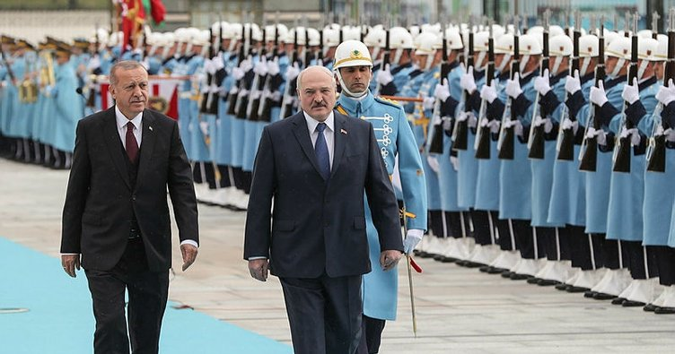 Başkan Erdoğan'dan Lukaşenko onuruna yemek
