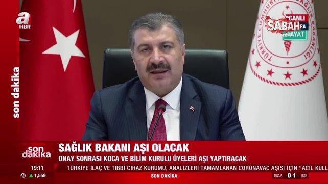 Bilim Kurulu toplantısının hemen ardından Bakan Fahrettin Koca'dan ilk açıklama geldi | Video