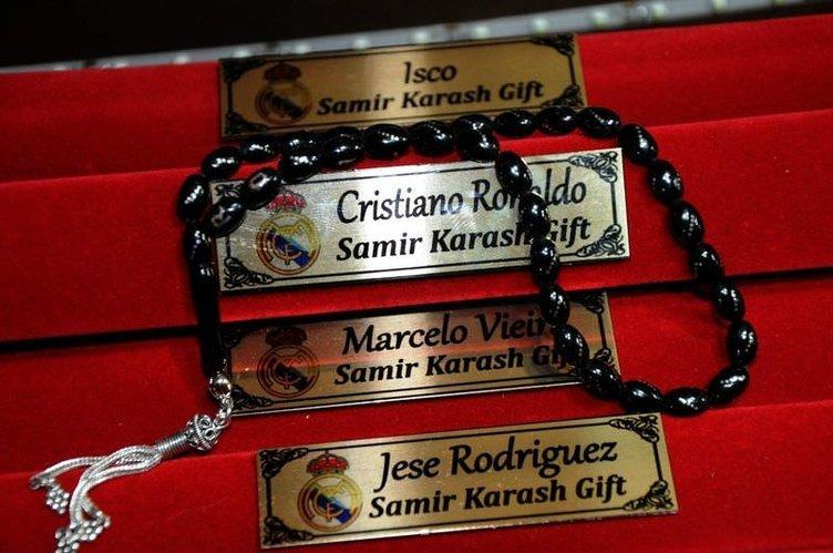 Real Madridli futbolcuların tespihleri Türkiye'den