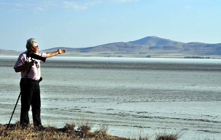 Kuşlar Seyfe gölünü terk etti