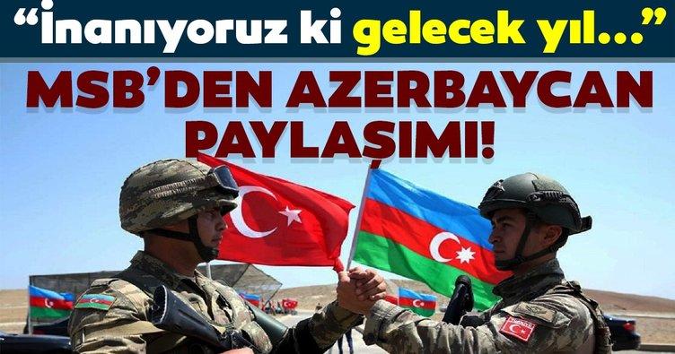 Son dakika: MSB'den Azerbaycan paylaşımı! Azerbaycan Bağımsızlık günü klibi...