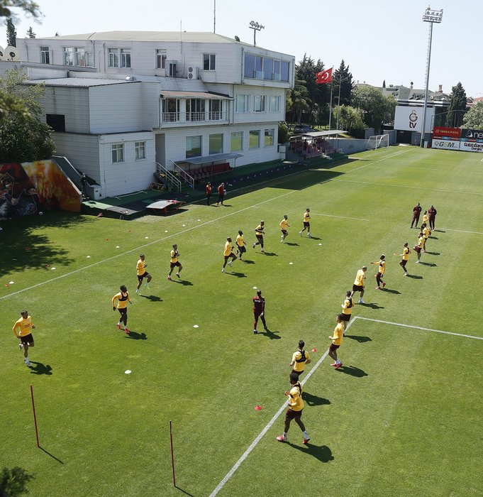 Galatasaray'da Süper Lig mesaisi sürüyor!