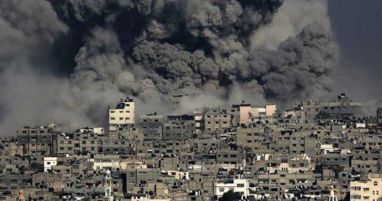 İsrail Gazze'de sivil alanları kasten hedef aldı