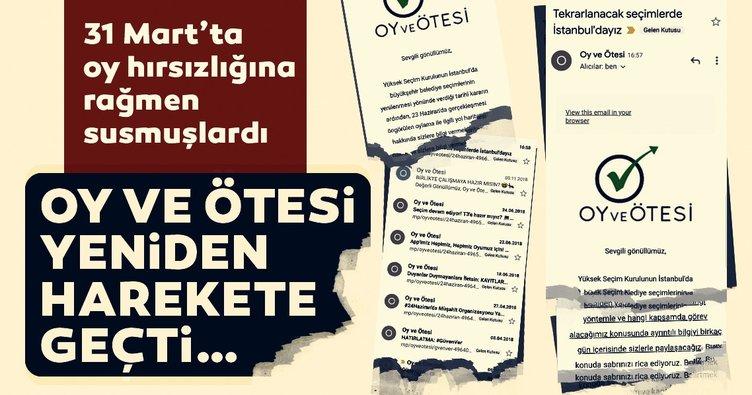 31 Mart seçimlerinde susan Oy ve Ötesi yeni seçimler öncesi yine harekete geçti