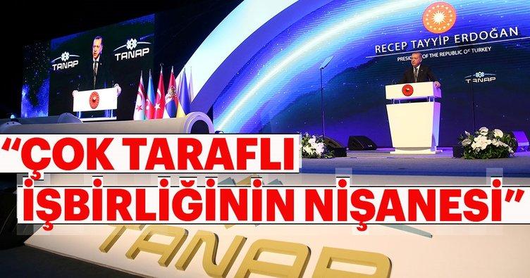 Son dakika haberi: Cumhurbaşkanı Erdoğan TANAP açılış töreninde konuştu
